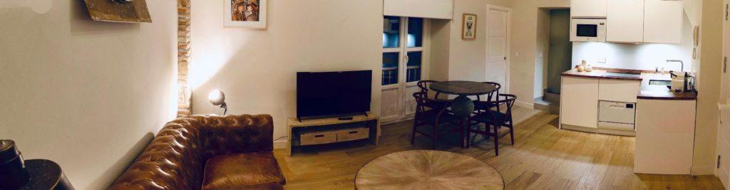 salon de apartamento petite 2 de llave del sur cadiz